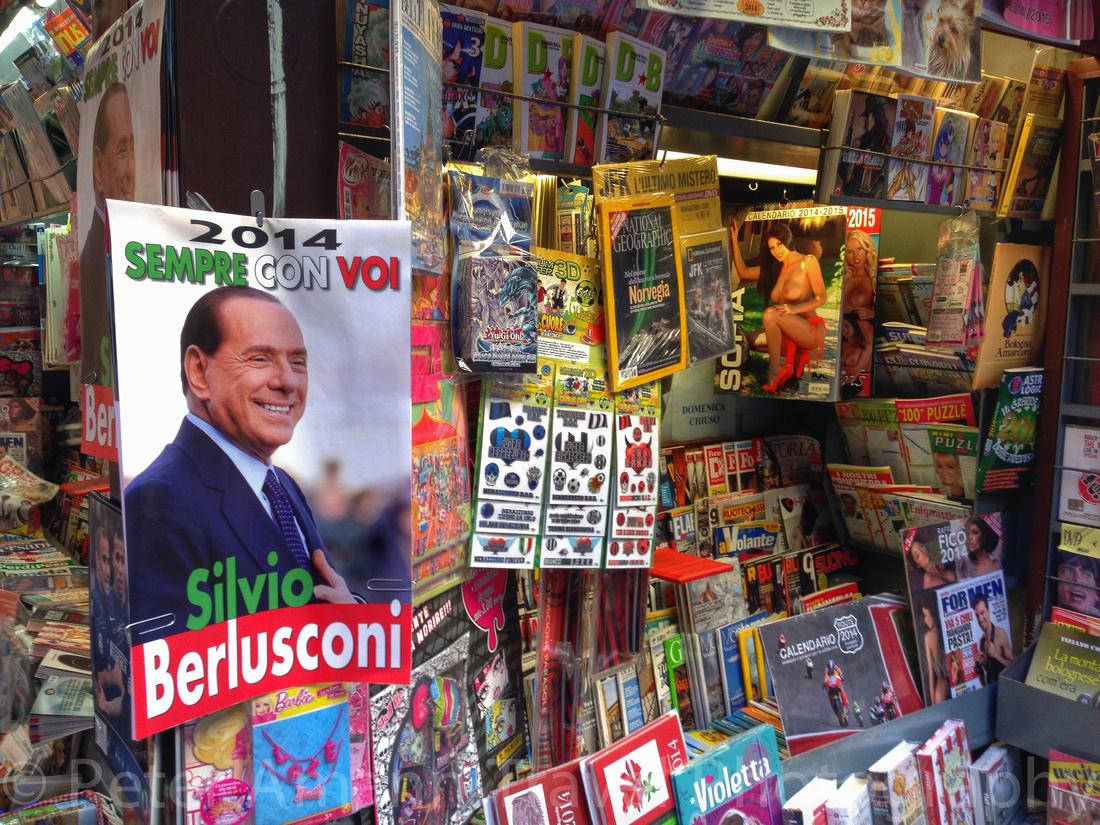 Bologna, Berlusconi-Kalender 2014
